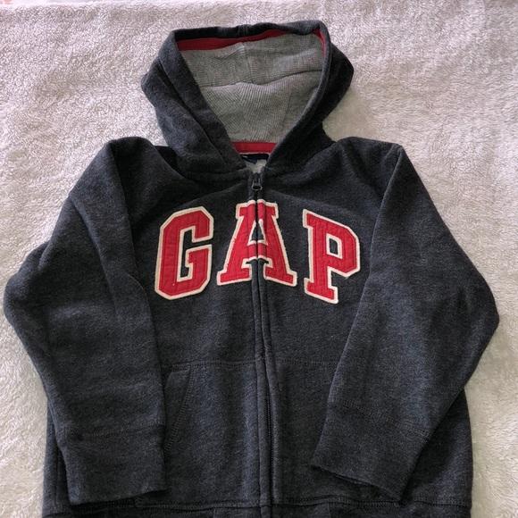 55c28086355 GAP Other - Boys hooded sweatshirt